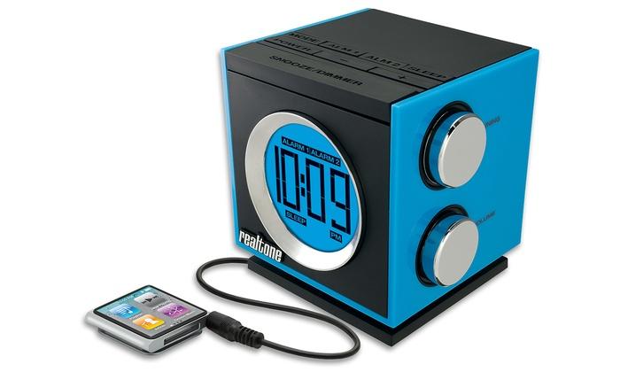 nexxtech cd alarm clock radio manual