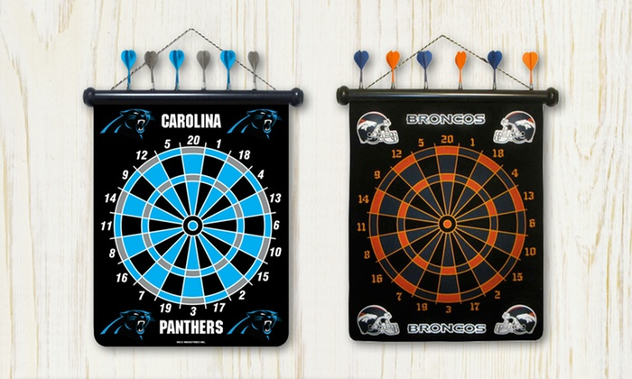 NFL Magnetic Dartboard: NFL Magnetic Dartboard. Multiple Teams Available. Free Shipping and Returns.