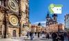 Elizabeth Suites  - Prague: Prague : Suite junior Deluxe pour 2 personnes avec une bouteille de vin et départ tardif à l'Elizabeth Suites