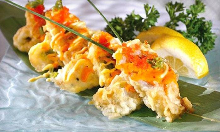 Geisha Steak and Sushi Restaurant - Far North Dallas: $10 Worth of Japanese Cuisine and Sushi