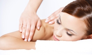 Nancy Heimlich at 12 Meridians Acupuncture: Body Wrap and Massage from Nancy J Heimlich at 12 Meridians Acupuncture (Up to 46% Off). Three Options Available.