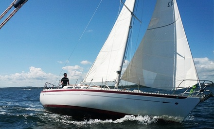 Three-Hour Sailing Lesson for One or Two at South Portland Sailing Center (50% Off)