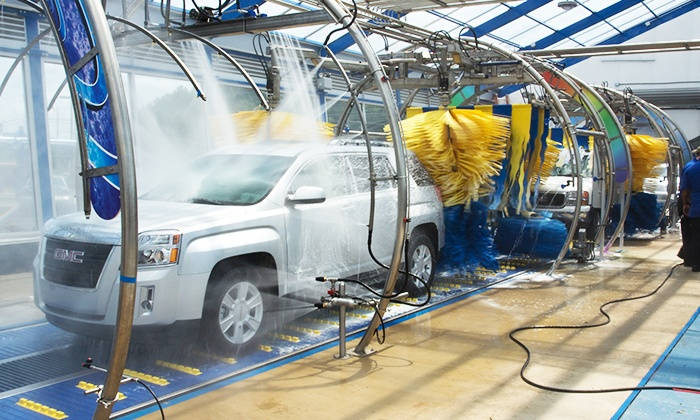 Blue Rain Express Car Wash - Pelham: Ultimate Exterior Car Wash or Blue Rain Special Exterior Car Wash at Blue Rain Express Car Wash  (Up to 53% Off)