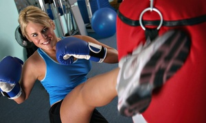 Blacklist Martial Arts & Fitness: Two or Four Weeks of Unlimited Kickboxing or Boot-Camp Classes at Blacklist Martial Arts & Fitness (Up to 65% Off)