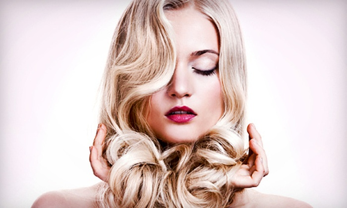 Substance Salon - Rutherford: $55 for One Haircut, Blow-Dry, and Glaze at Substance Salon (Up to $130 Value)
