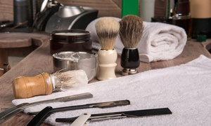 LaVish Styles: One or Two Gentleman's Haircut with Optional Nine-Step Facial Shave at LaVish Styles (Up to 60% Off)