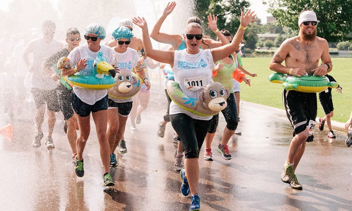 Drenched - Riverside Park Special Events Area: Drenched 5k Admission for One or Two on Saturday, August 30 (Up to 44% Off)