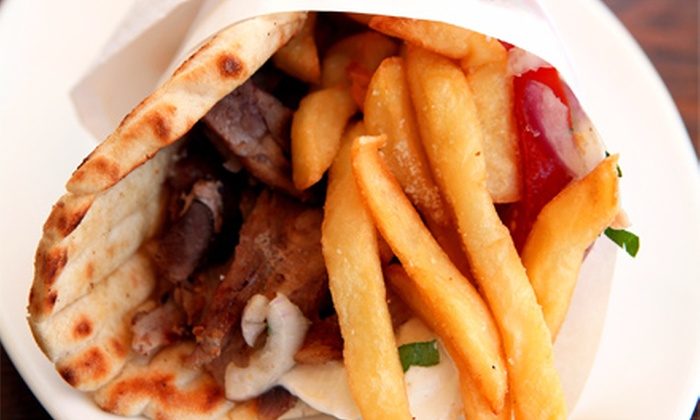 Greek Grill & Fry Co. - Chandler: $15 for Two Groupons, Each Good for $15 Worth of Greek Food at Greek Grill & Fry Co. ($30 Total Value)