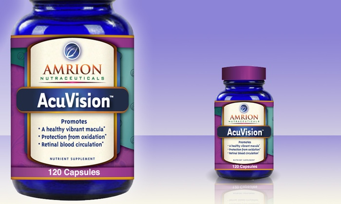 Amrion's AcuVision Eye Health Supplement: Amrion's AcuVision Eye Health Supplement. Free Shipping.