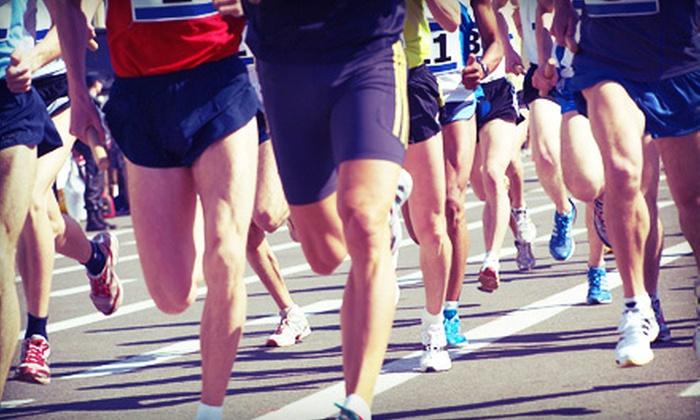 Jamestown Half Marathon - Jamestown: $27 for Entry to the UnitedHealthcare Jamestown Half Marathon from Eident Sports Marketing ($55 Value)