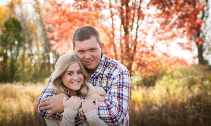 Kaye's Photography Llc - Flint: 45-Minute Engagement Photo Shoot with Photo-Review Session and Retouched Images from Kaye's Photography (80% Off)