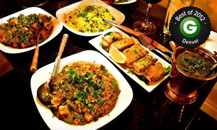 Little India - Multiple Locations: $5 for $10 Worth of Indian Food at Little India