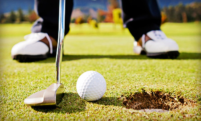 Play Golf and Tennis - Multiple Locations: $29 for Golf Class, Two Golf Clinics, Two Tennis Lessons, or Simulated Golf Lesson at Play Golf and Tennis ($95 Value)