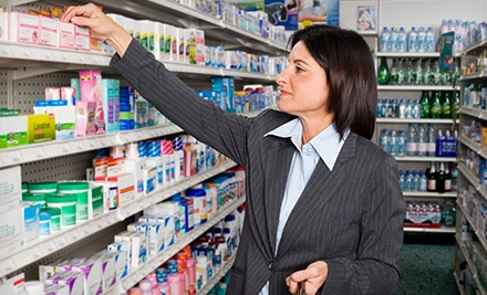 $10 for $20 Worth of Health and Wellness Products at Rx Care Pharmacy