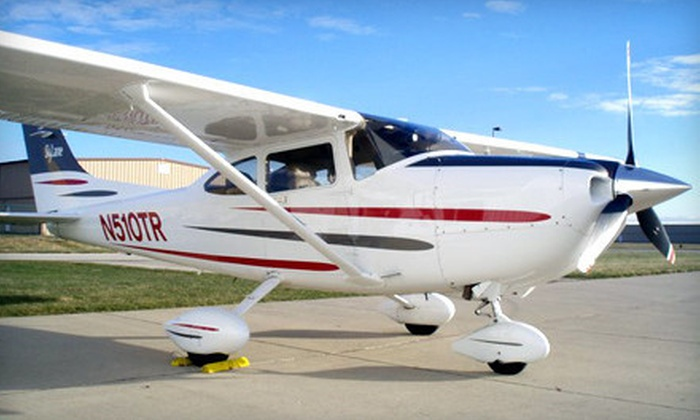 Chicagoland Aviation - Romeoville: Private Pilot Course for One or Two at Chicagoland Aviation (Half Off)