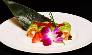 Mitsuba: $9 for $22 Worth of Sushi and Hibachi Cuisine for Two at Mitsuba