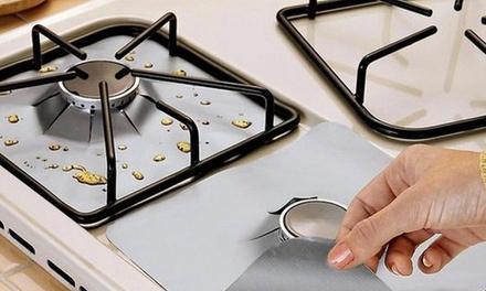 4, 8 ou 16 protections pour plaques de cuisson