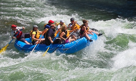 $299 for Whitewater-Rafting Trip with Food and Beverages for Up to Six from Wiley E. Waters ($560Value)