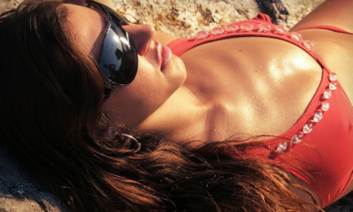 Bask Tanning & Airbrushing - Bask Tanning & Airbrushing: Two Airbrush or UV Tans or One Month of Unlimited UV Tanning at Bask Tanning & Airbrushing (Up to 63% Off)