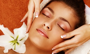 Maria's Indulge: Back, Head and Shoulder Massage Plus Facial at Maria's Indulge (55% Off)