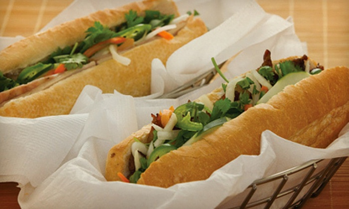 Green Basil - Downtown Naperville: Vietnamese Food at Green Basil (Up to 55% Off). Two Options Available.