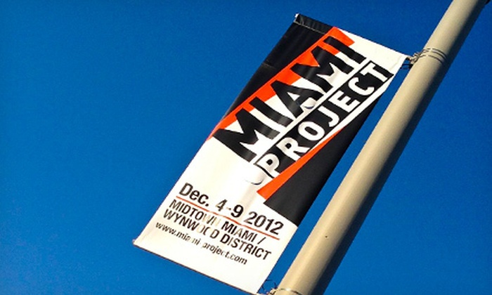 The Miami Project - Wynwood: The Miami Project Art Fair on December 4–9 (Up to 52% Off). Four Options Available.