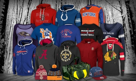 $20 for $30 Worth of Licensed Sports Apparel from Fanatics