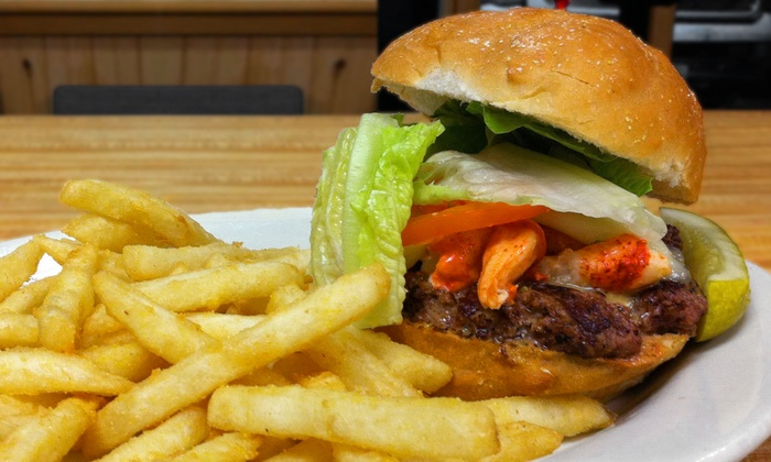 Krazy Jake's - Wilbraham: $13 for Five $5 Vouchers for Seafood, Burgers, and Ice Cream at Krazy Jake's