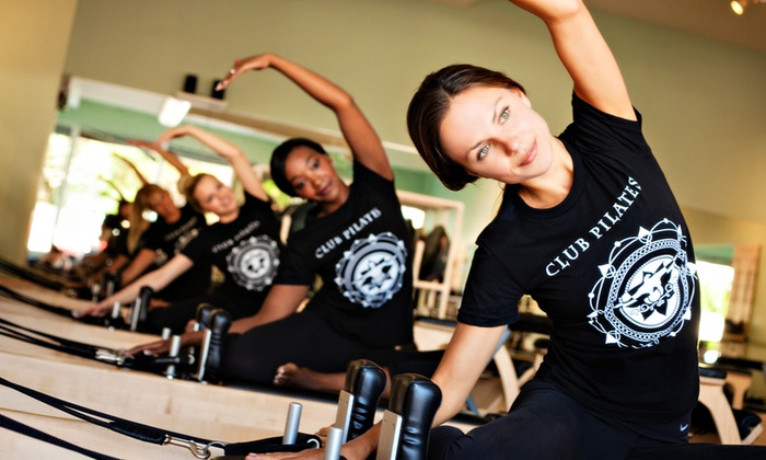 Club Pilates Studio - Spring Valley: $49 for Five Pilates Classes at Club Pilates Studio ($85 Value)