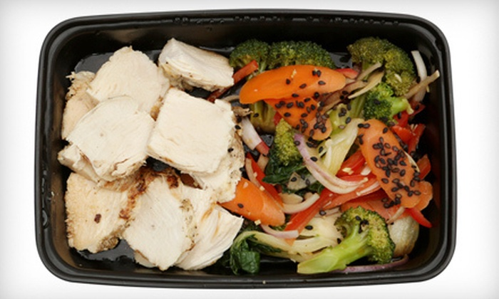 My Healthy Meal: $10 for $20 Worth of Prepared Meals from My Healthy Meal