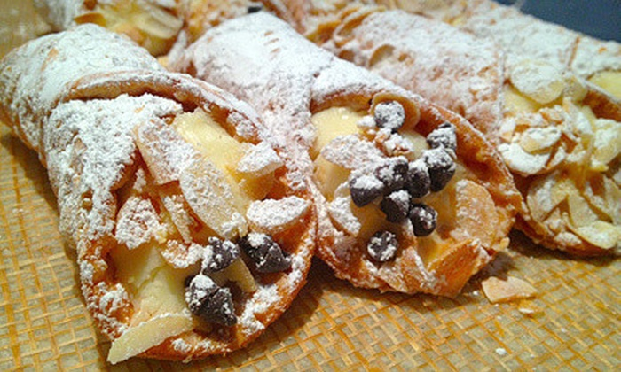 Auddinos Bakery & Cafe - Mill Run: $5 for $10 Worth of Pastries and Café Sandwiches at Auddinos Bakery & Cafe