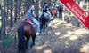 Rocky Fork Ranch - Monroe: $49 for Camping Trip for Two with Horseback Ride or Paintball at Rocky Fork Ranch Resort in Kimbolton (Up to $110 Value)