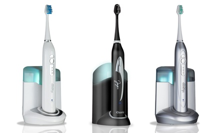 Ultrasonic Toothbrush with UV Sanitizer