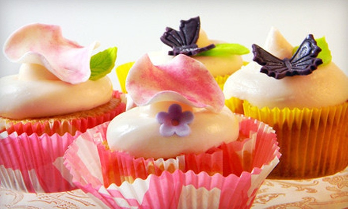 The Cake Professor - Robert Mills Historic: Cupcake-Decorating Class for One or Two or Private Party for 12 at The Cake Professor (Up to 53% Off)