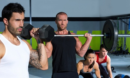 $40 for 40 Days of Unlimited CrossFit Classes at Create CrossFit ($265 Value)