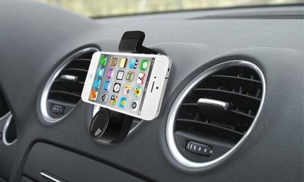 Supports voiture de smartphones et GPS, câble chargeur, allume-cigare et stylet