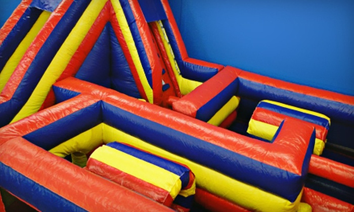 Boing Boing Bounce - Corpus Christi: Five One-Hour Open-Jump Sessions or Six-Month Membership to Boing Boing Bounce (Up to 56% Off)