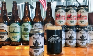 Up to 50% Off Beer Tasting at County Line Brewing at County Line Brewing, plus 6.0% Cash Back from Ebates.