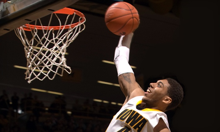 University of Iowa Hawkeyes Basketball - Lincoln: $14 for a University of Iowa Men's Basketball Game for Two at Carver-Hawkeye Arena on December 4 at 7 p.m. ($28 Value)