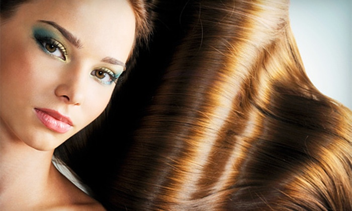 Gabby Galindo at Hairport Syndicut - Upland: One or Two Keratin Treatments with Gabby Galindo at Hairport Syndicut (Up to 67% Off)