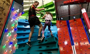 Game Over Gold Coast: Indoor Climbing - One ($12), Two ($24) or Five Sessions ($49) at Game Over Gold Coast (Up to $120 Value)