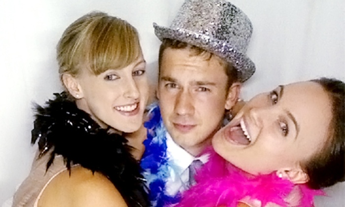 Party Animalz - Torrington: $539 for a Four-Hour Photo-Booth Rental from Party Animalz ($1,400 Value)