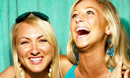 Three- or Four-Hour Photo-Booth Rental Package with Attendant from TRP Entertainment (Up to 49% Off)
