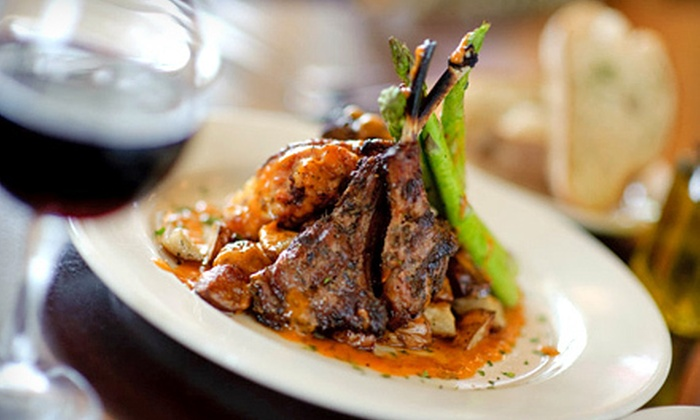 Spoleto East Longmeadow - East Longmeadow: Italian Dinner for 2, 4, or More, or a Party Package for Up to 25 at Spoleto East Longmeadow (Up to 67% Off)