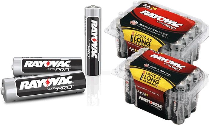 Batteries Plus - Oklahoma City: Rayovac Ultra Pro AA Batteries, AAA Batteries, or Both at Batteries Plus Bulbs (Up to 36% Off). Six locations.