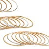 Diamond-Cut Bangles in Assorted Colors (7-Pack)