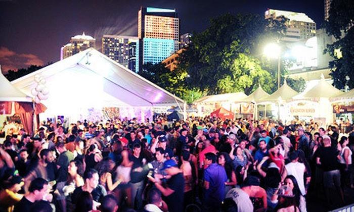 Brickell Fest Cinco De Mayo - Brickell: General or VIP Visit to Brickell Fest Cinco De Mayo on May 4 or 5 (Half Off)