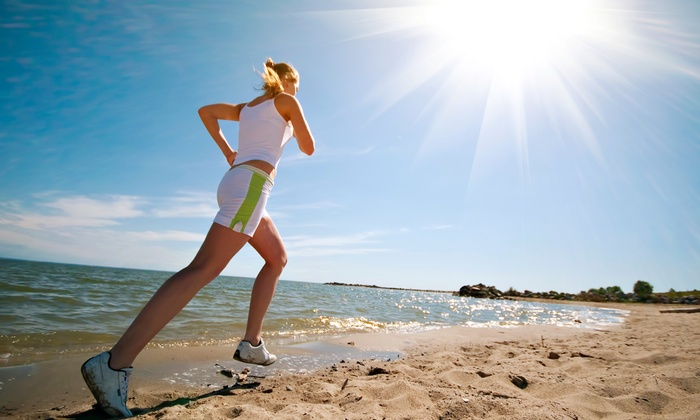 Padre Island Health and Fitness - Corpus Christi: Three or Five Beach Fitness Classes at Padre Island Health and Fitness (Up to 56% Off)