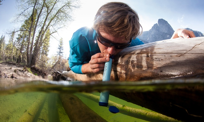 1, 2, or 3 LifeStraw Personal Water Filters