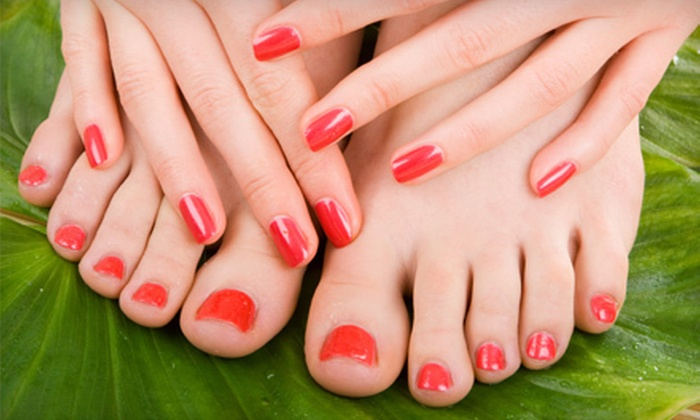 Natural Nail Care Clinic - Clover Hill: $32 for Mani-Pedi at Natural Nail Care Clinic in Midlothian ($65 Value)